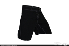 Today on MMAHQ Cageside No Logo Microfiber Shorts - $19